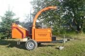 RĘBAK TIMBERWOLF TW 150 D, silnik KUBOTA, GWARANCJ