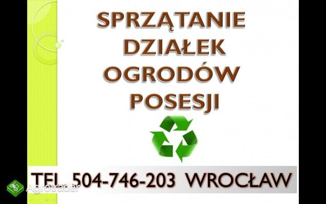 sprzątanie działki,ogrodu,wywóz gałęzi,wywóz mebli - zdjęcie 2