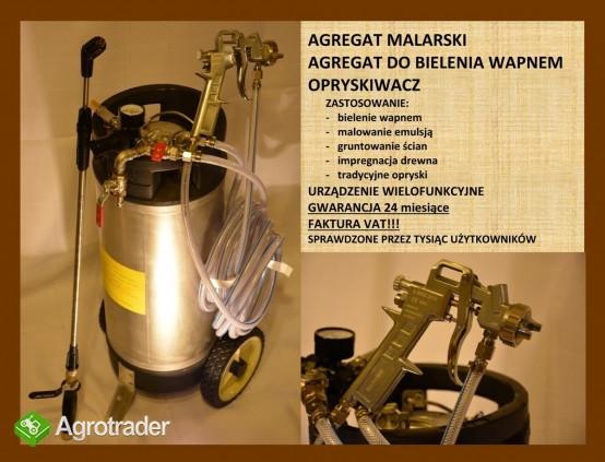 AGREGAT MALARSKI BIELARKA DO WAPNA DO BIELENIA WAPNEM F VAT - zdjęcie 1
