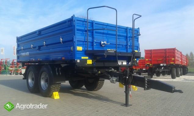 Przyczepa rolnicza ciężarowa firmy Metal-fach T730/1 8T - zdjęcie 1