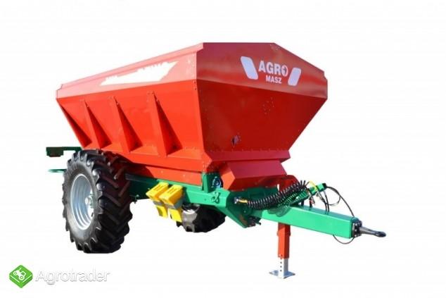 Rozsiewacz do wapna REWO 8200 litrów Agro-Masz - zdjęcie 2