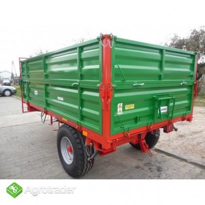 Przyczepa przyczepy rolnicza jednoosiowa GOMAR GPJ 103/1 - zdjęcie 2