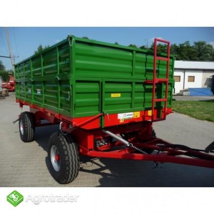 Przyczepa rolnicza przyczepa dwuosiowa GOMAR GPT 107 - zdjęcie 5