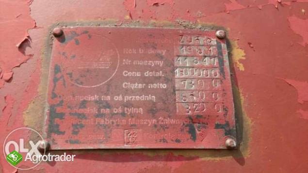 Kombajn Bizon Z056 BRUTTO rozdrabniacz 84r dobry stan techniczny