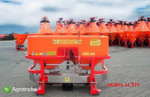 Rozsiewacz Nawozów Tornado 600L/850kg LIFT DEXWAL AGRO-ACTIV