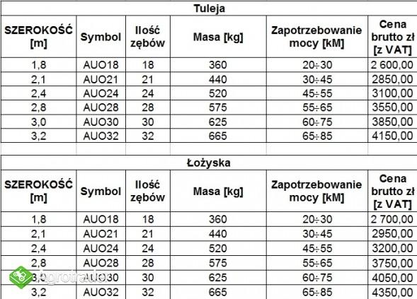 Agregat uprawowy ORION od 1,8 do 3,2m, ROLMAPOL, Dziekan - zdjęcie 4