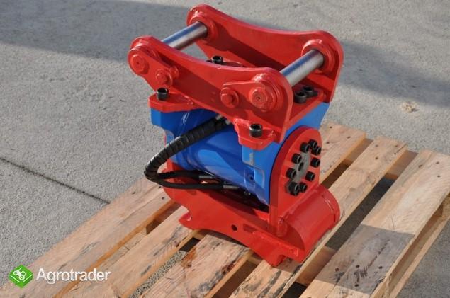 Euro-Maszyny Szybkozłącze obrotowe hydrauliczne TILTRATON do maszyn 10 - zdjęcie 3