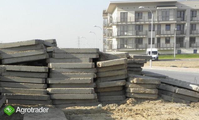 Płyty drogowe betonowe / Piła - zdjęcie 1