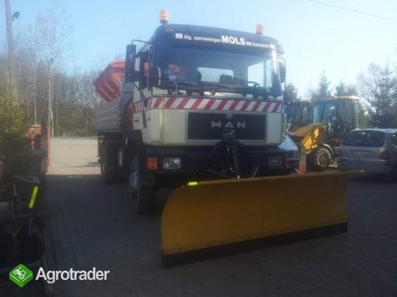 Pługi śnieżne do ciągnika i ciężarówki - producent - zdjęcie 2