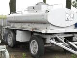Cysterna paliwa 4000 l na kołach z dystrybutorem
