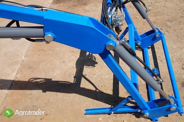 ładowacz TUR4 do mini traktora KUBOTA iseki Yanmar - zdjęcie 3