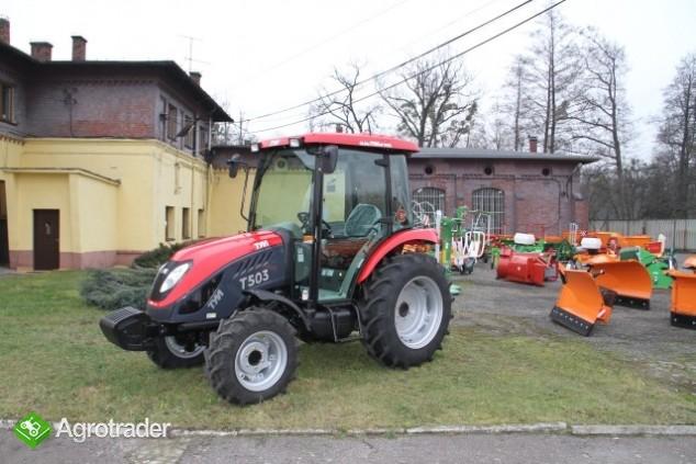 Ciągnik rolniczy komunalny pomocniczy TYM T 503 nowy  sprzedaż - zdjęcie 3