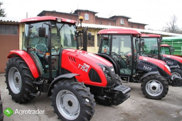 TYM T754 ciągnik 70 KM rolniczy komunalny nowy sprzedaż