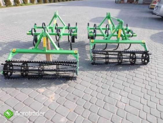 Pług do orania 2- skibowy mini traktorek kubota hinomoto yanmar iseki  - zdjęcie 4