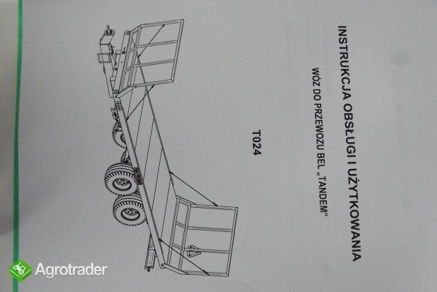 Katalog Pronar przyczepy,maszyny użytkowe,Instrukcje obsługi. - zdjęcie 2