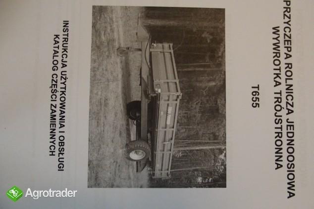 Katalog PRONAR Część Zamiennych, Instrukcje Obsługi - Przyczepy - zdjęcie 7