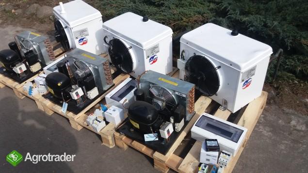 Przechowalnia agregat chłodniczy Bitzer spreżarka chłodnicza parownik  - zdjęcie 4