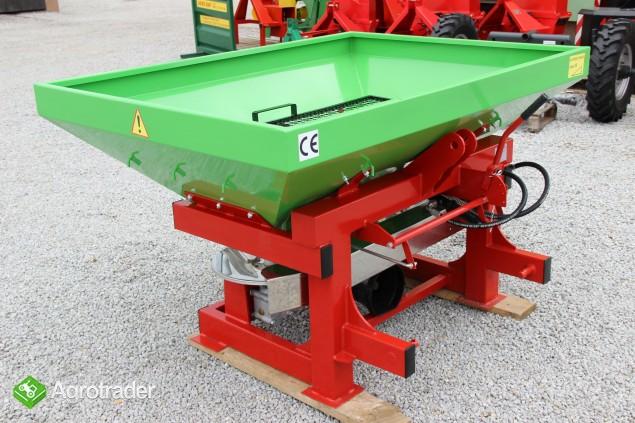 Rozsiewacz dwutarczowy rozsiewacze Agro-Max nawozu - zdjęcie 2