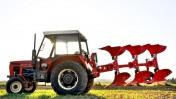 Pług pługi obrotowy obracalny mały Agro-Masz zabezpieczenie zrywalne