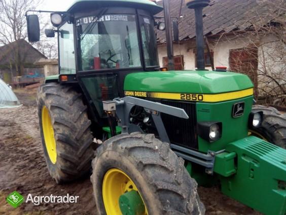 John Deere 2850 TL bogata wersja od rolnika napęd 4x4