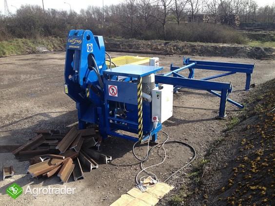 Urządzenie maszyna do łamania szyn kolejowych - złom szyny - zdjęcie 2