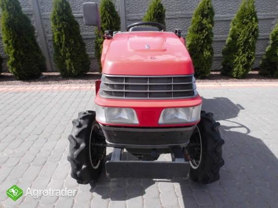 Yanmar F-5 4x4 super stan kubota iseki mini traktor - zdjęcie 1