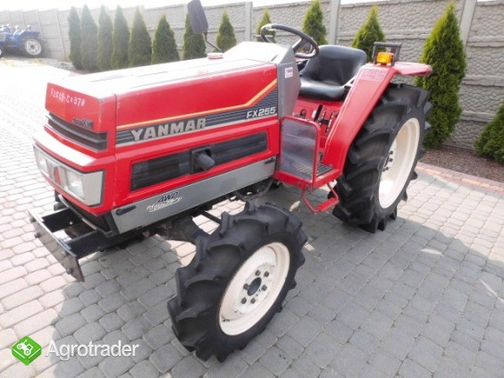 Yanmar FX255 super stan kubota iseki hinomoto mini traktor - zdjęcie 6