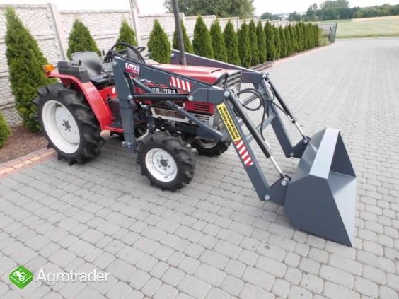 Shibaura P17 4x4 17 PS ładowacz czołowy TUR mini traktor - zdjęcie 5