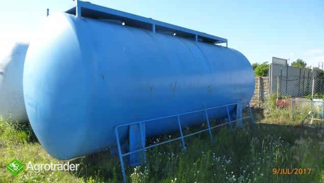 Zbiornik stalowy 30m3 Dwupłaszczowy Trzykomorowy Nieużywany