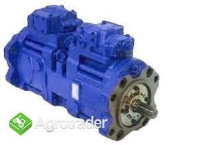 Kawasaki pompa hydrauliczna k3VL200, K3VG63, New Holland E215B - zdjęcie 3