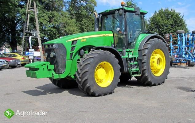 Ciągnik rolniczy JOHN DEERE 8530 TLS - 379 KM - 2008 ROK - zdjęcie 7