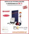 Instalacje fotowoltaiczne z 20 % umorzeniem pożyczki.