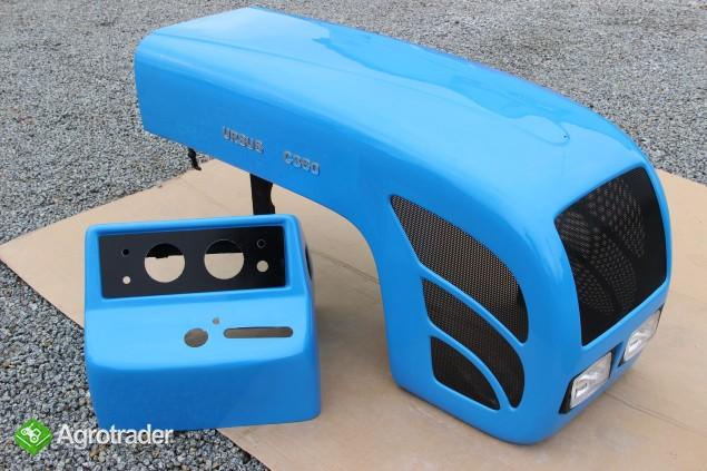 Maska ciągnikowa maska do ciągnika Ursus C360 C-360 niebieska  - zdjęcie 6