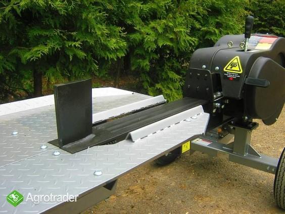 Łuparka kinetyczna: nacisk 35 T, 6,5 kM, max. długość materiału 55 cm - zdjęcie 1