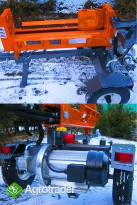 ŁUPARKA HYDRAULICZNA Double Action: nacisk 20/17t, silnik 2,2 kW, 62cm - zdjęcie 1