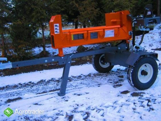 ŁUPARKA HYDRAULICZNA Double Action: nacisk 20/17t, silnik 2,2 kW, 62cm - zdjęcie 2