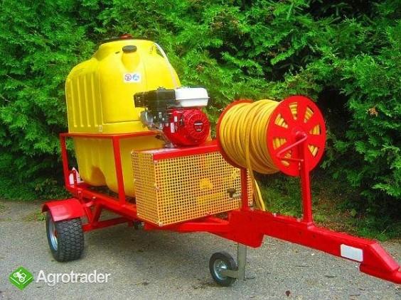 Opryskiwacz  do wózków widłowych ładowarek kołowych, 400L, 6,5 kM,  - zdjęcie 2