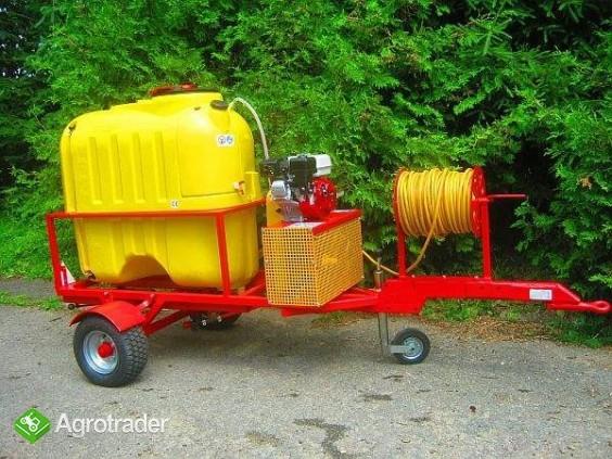 Opryskiwacz  do wózków widłowych ładowarek kołowych, 400L, 6,5 kM,  - zdjęcie 5