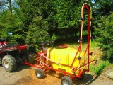 Opryskiwacz wózkowy spalinowy + zamgławiacz, 200l, 6,5 kM, 14-22l/min