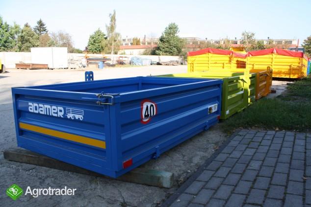 Skrzynia ładunkowa transportowa kontener ciągnik wózek widło ADAMER  - zdjęcie 6