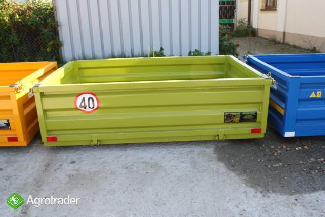 Skrzynia ładunkowa transportowa kontener ciągnik wózek widło ADAMER  - zdjęcie 7