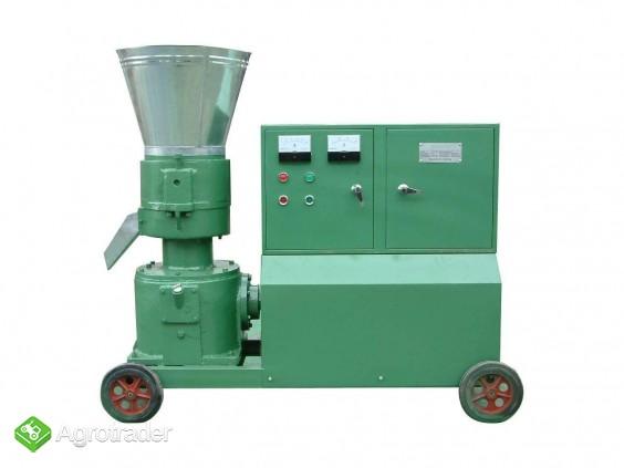 PELLECIARKA: wydajność do 150-250 kg/h, silnik 7.5 kW