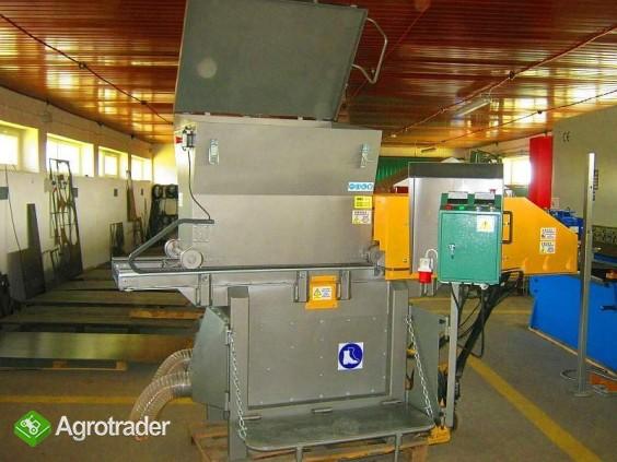 Rozdrabniacz, STRUGARKA  do nieforemnych odpadów 11 kW, HEBLER W-1