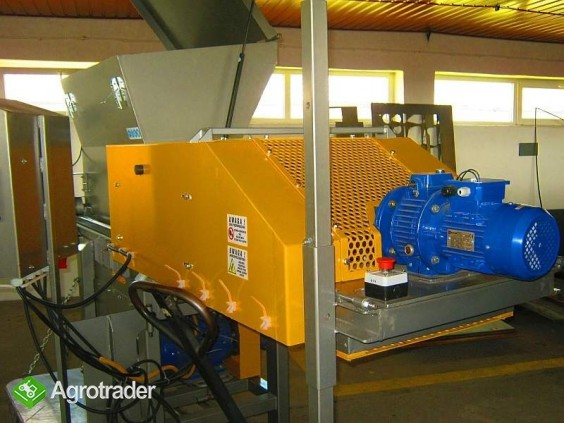Rozdrabniacz, STRUGARKA  do nieforemnych odpadów 11 kW, HEBLER W-1 - zdjęcie 7