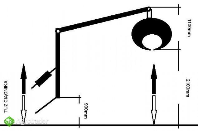 CHWYTAK ZRYWKOWO-ZAŁADOWCZY DO DREWNA DO CIĄGNIKóW min.18 hp - zdjęcie 6
