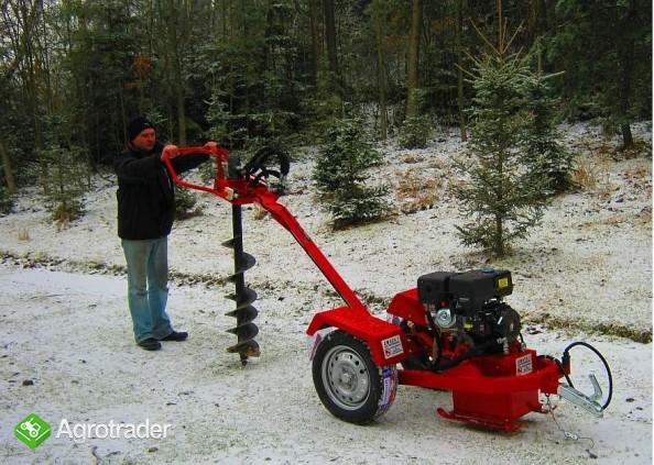 Wiertnica hydrauliczna glebowa o napędzie spalinowym 13 KM,  - zdjęcie 1