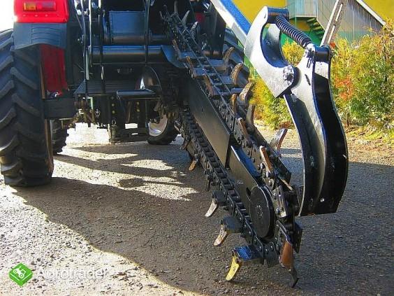 Koparka łańcuchowa napędzane z ciągnika rolniczego 220 cm - zdjęcie 1