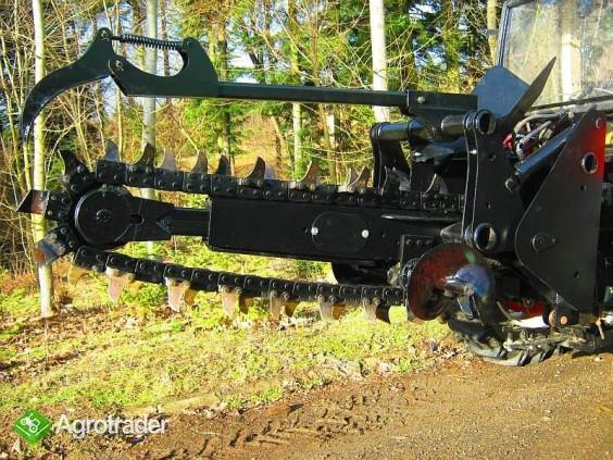 Koparka łańcuchowa napędzane z ciągnika rolniczego 160 CM - zdjęcie 4