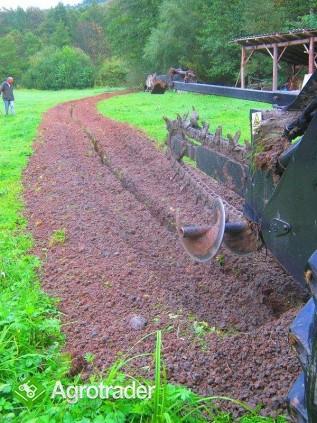 Koparka łańcuchowa napędzane z ciągnika rolniczego 160 CM - zdjęcie 5