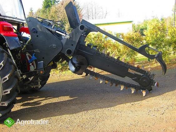 Koparka łańcuchowa napędzane z ciągnika rolniczego 120 CM